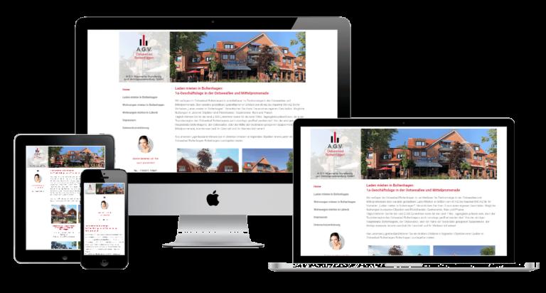 Individuelle Website von JP-Networks