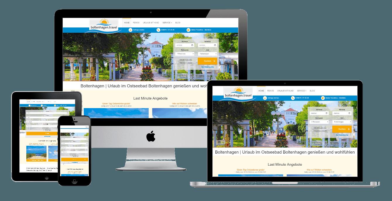 Individuelle Webentwicklung von JP-Networks