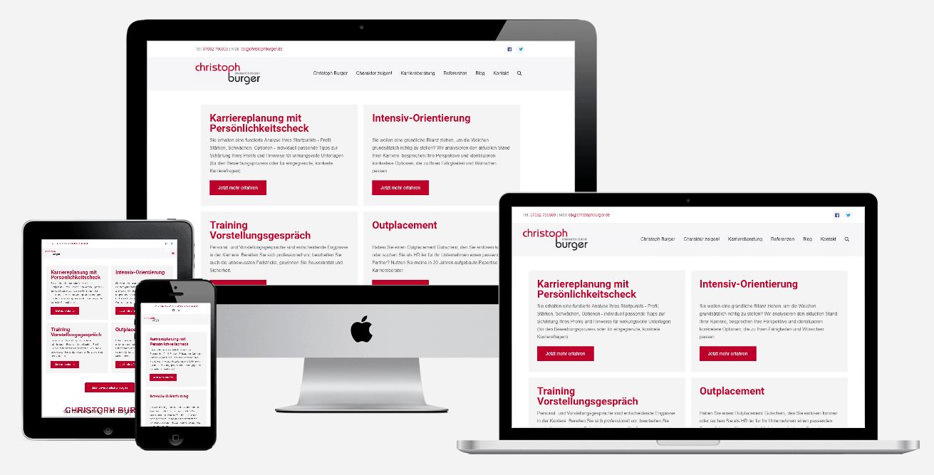 Webseite erstellen lassen - Christoph Burger