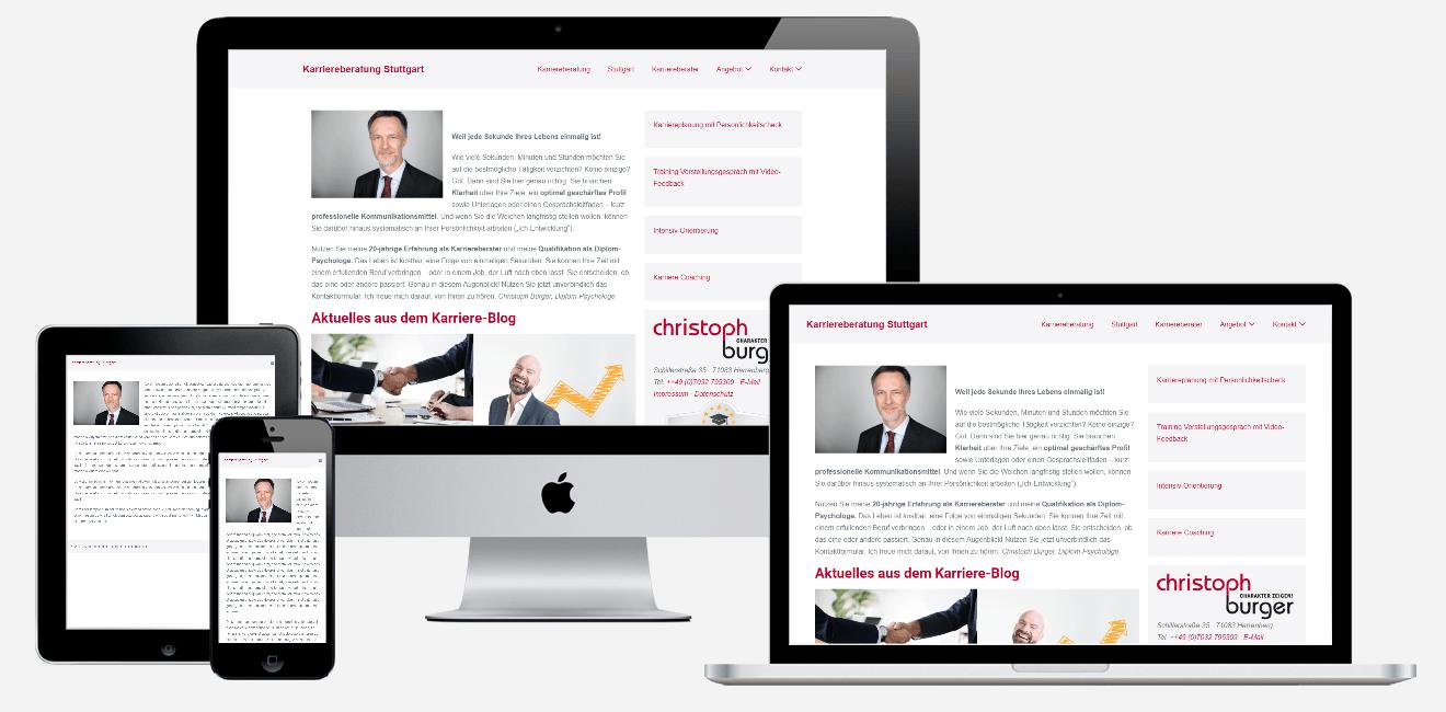 Webseiten erstellen lassen- karriereberatung-stuttgart.de